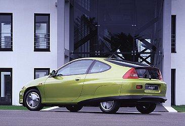 A primeira geração do Honda Insight era futurista demais para a época