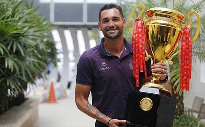 Herói no Baiano, Gilberto quer ganhar título nacional com o Bahia