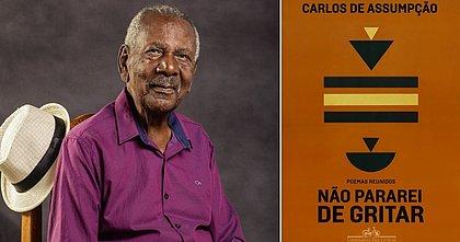 O escritor paulista Carlos de Assumpção tem 93 anos
