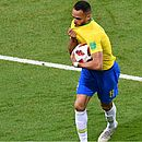Renato Augusto foi o autor do gol de honra do Brasil