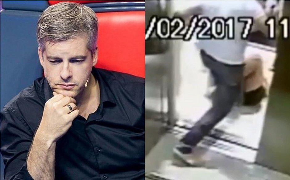 Vídeo do cantor Victor agredindo mulher é divulgado por TV; assista