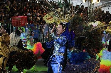 Mistura de samba e forró marcaram as apresentações