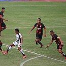 Vitória não conseguiu aproveitar as chances diante do Ceará