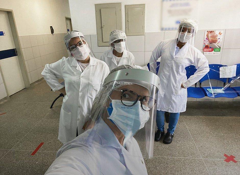 Desal fabrica 10 mil protetores faciais para servidores municipais