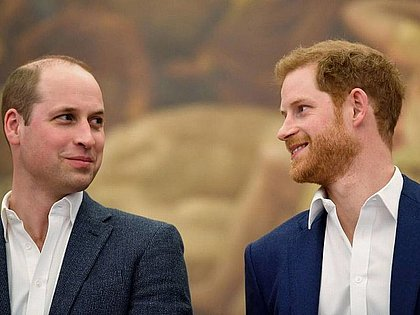 Harry e William terão reencontro no funeral do príncipe Philip