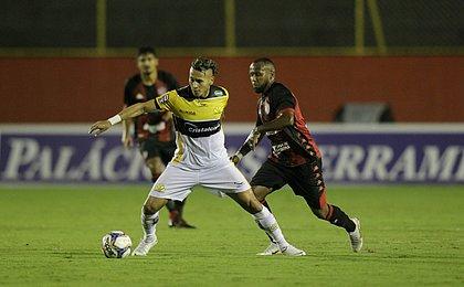 Contra o Criciúma, Vitória conseguiu não sofrer gol após 4 meses