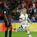 Rapinoe fez os dois gols da vitória dos Estados Unidos