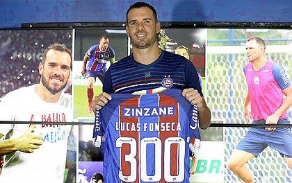 Com mais tempo de casa entre atletas do atual elenco, Lucas soma cinco títulos pelo Bahia