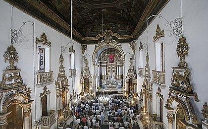 Missa marca reinauguração da Basílica do Senhor do Bonfim
