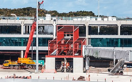 Obras do Aeroporto de Salvador estão 85% concluídas; veja o que muda