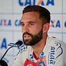Allione lembra que os jogadores do Bahia não podem se empolgar com a possibilidade de classificação à Libertadores