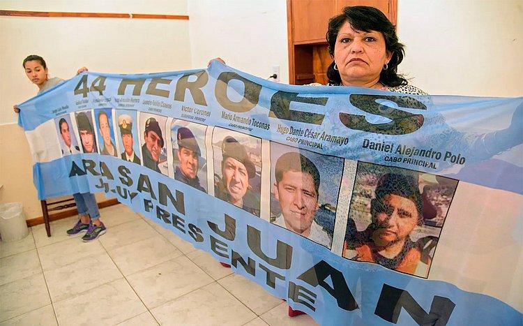 Mistério de submarino que desapareceu na Argentina completa 1 ano