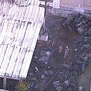 Imagens da Globo mostram destruído em área do CT