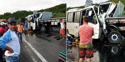 Sobe para 3 número de mortos em batida frontal no Sudoeste baiano