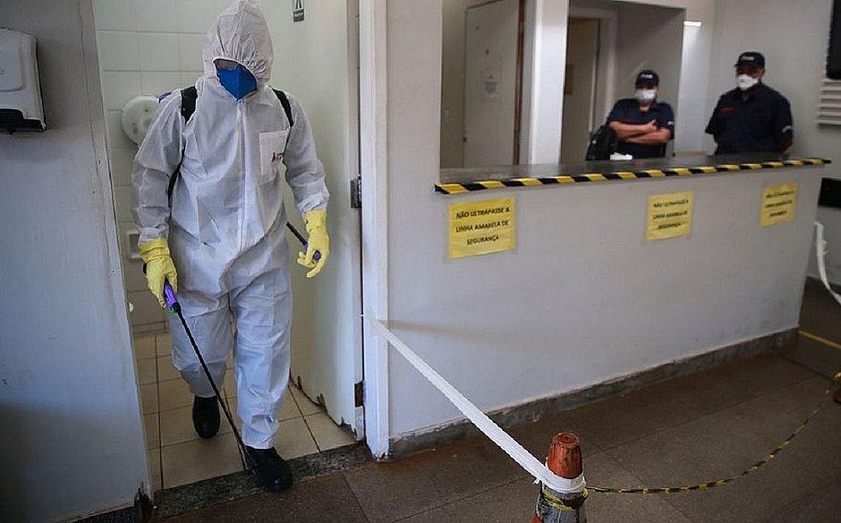 Brasil já tem 1.057 mortes por coronavírus e 19.638 casos confirmados