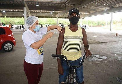 Vacinômetro: Bahia tem 2 milhões 874 mil vacinados; Mais de 1,3 mi com 2ª dose