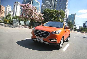 Nessa geração, o Hyundai ix35 só é produzido no Brasil