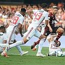 Partida entre São Paulo e Flamengo no Morumbi, pela 3ª rodada do Brasileirão
