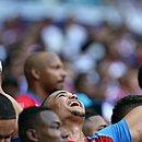Torcida tricolor se acostumou a esperar até o último minuto durante os jogos do Esquadrão