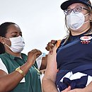 Manaus conduz vacinação