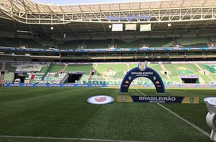 TST aceita pedido da CBF e permite jogo entre Palmeiras e Flamengo