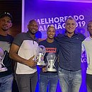 Van, Jair, Jarbas, Barbosinha e Cazumba foi os premiados do Bahia de Feira