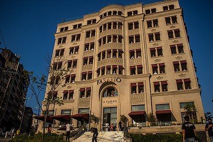 Fachada do hotel Fasano, no Centro Histórico de Salvador