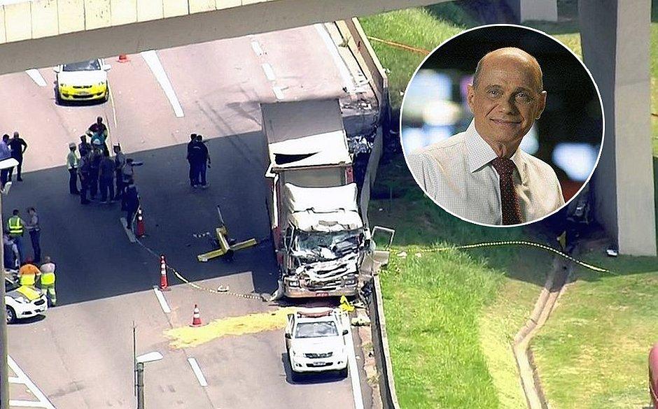 Falta de manutenção em helicóptero contribuiu para acidente que matou Boechat
