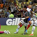 Daniel foi o autor do segundo gol do Fluminense contra o Bahia