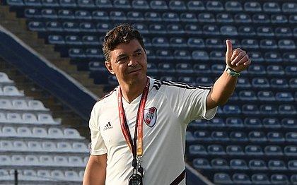 Gallardo vê River com 'boas chances' diante do Flamengo