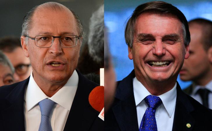 Ibope: sem Lula na disputa, Bolsonaro e Alckmin estão empatados em SP