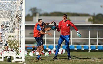 Rodriguinho e Douglas são titulares do time do Bahia