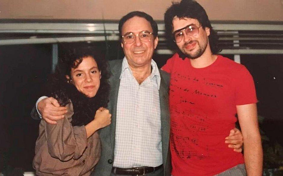 Bebel, João Gilberto e João Marcelo
