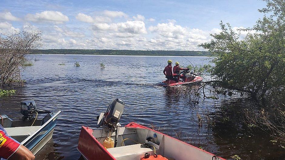 Corpo de terceira criança é encontrado no Rio Paraguaçu; barco naufragou na quinta