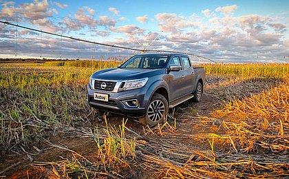 Nissan Frontier conquista pelo conforto a bordo