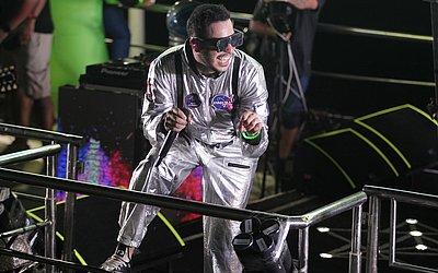 O astronauta Tomate