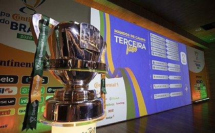 CBF divulga tabela da Copa do Brasil; Vitória enfrenta o Ceará