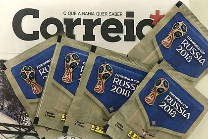 CORREIO vai encartar um pacote de figurinhas nos dias 8 e 11 de junho