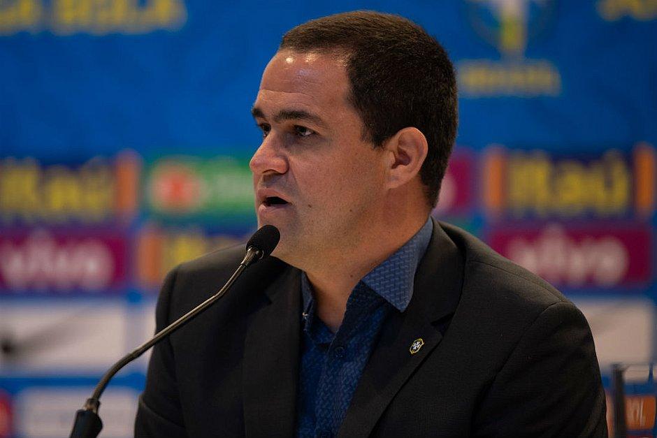 André Jardine, técnico da seleção olímpica