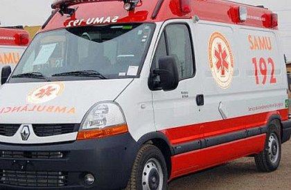 Ambulância do Samu é interceptada por bandidos em Salvador