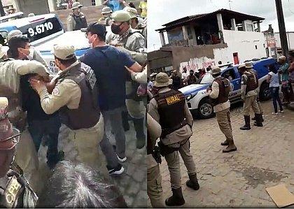 Prefeito é levado para delegacia após discutir com PM em São Gonçalo dos Campos