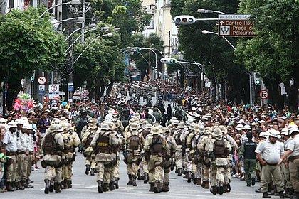 Esquema de segurança para o 7 de setembro terá mais de 2 mil policiais e bombeiros