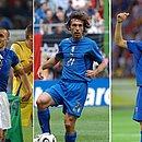 Cannavaro, Pirlo e Materazzi vão participar do torneio