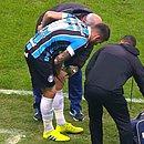 Vizeu machucou o joelho e vai desfalcar o Grêmio contra o Bahia
