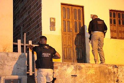 Polícia faz operação contra o tráfico de drogas na Chapada Diamantina