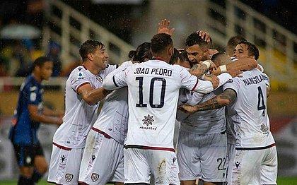 Cagliari vence duelo das 'sensações' do Italiano contra Atalanta