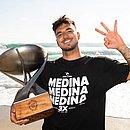 Medina faturou o tricampeonato mundial