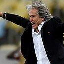 Jorge Jesus elogia festa da torcida do Flamengo na semifinal da Libertadores, contra o Grêmio, no Maracanã