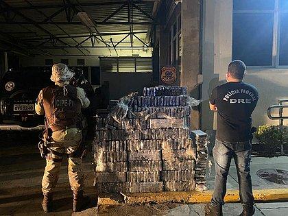 Cocaína pura apreendida em caminhões-tanque é avaliada em mais de R$ 37 milhões