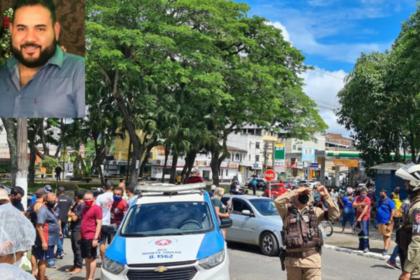 Funcionário do Detran é morto a tiros no centro de Itabuna